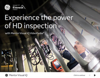 Experience the power of HD inspection with Mentor Visual iQ VideoProbe